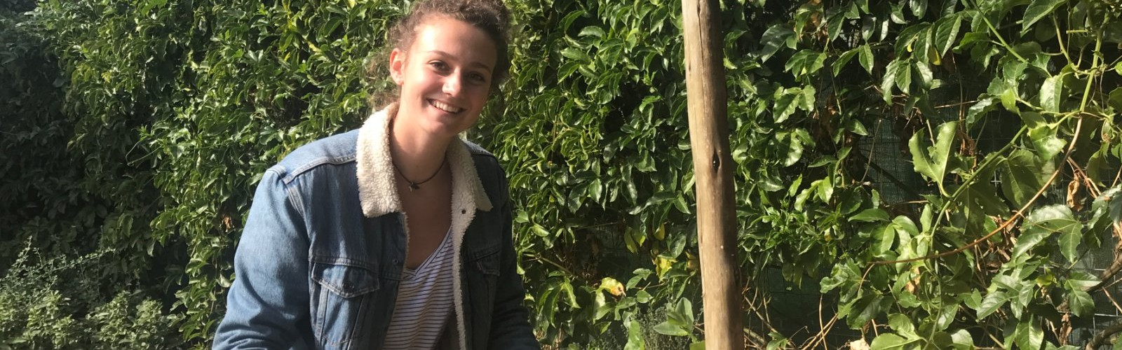 A day with Paula, Food Security and Urban Farming Intern