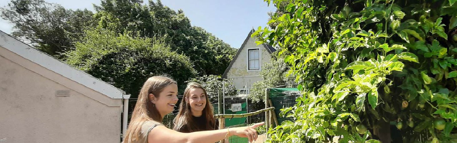 A Day With Two Food Security Interns in Cape Town
