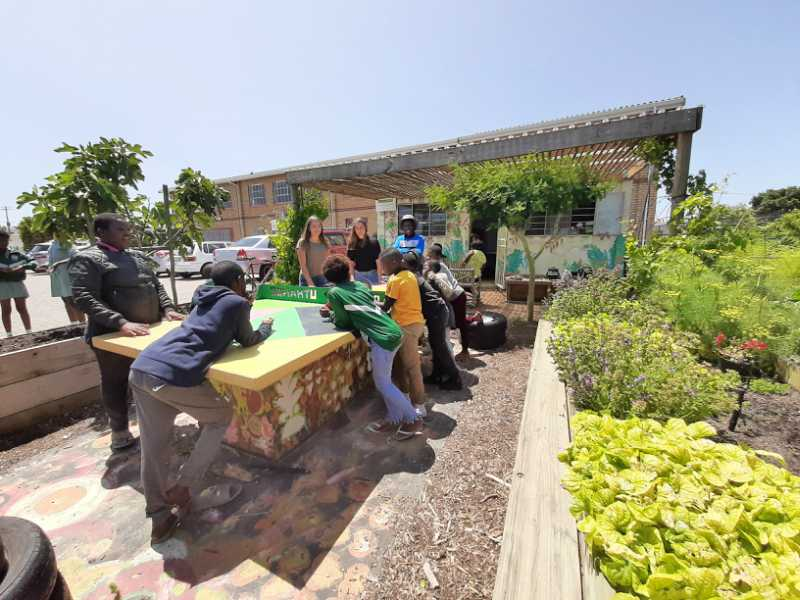Jullia Annemiek Urban Harvest Cape Town South Africa Isikhokelo Primary School