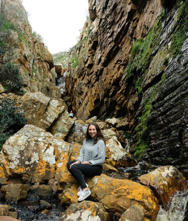 Hiking in Africa_internship Cape Town