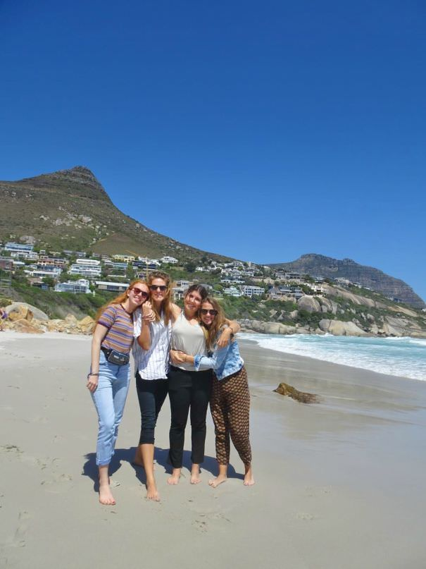 Camps Bay Sophie Siessmeier Greenpop intern Cape Town South Africa Environmental