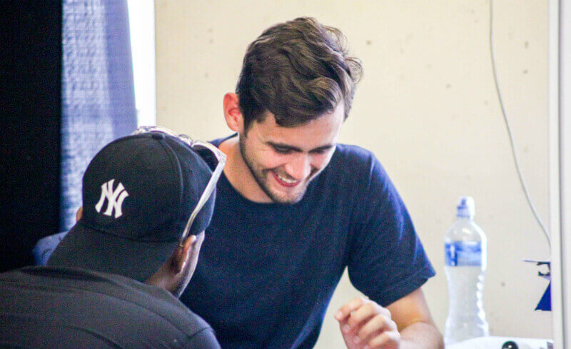 advocacy Intern at work in Cape Town