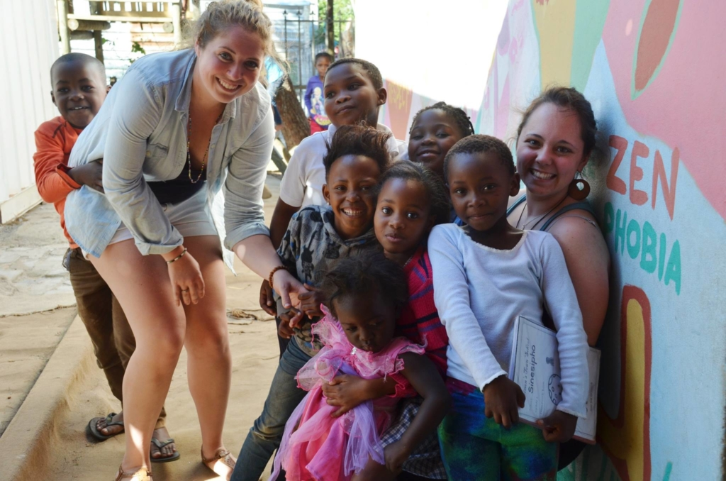 writing internships with African charities