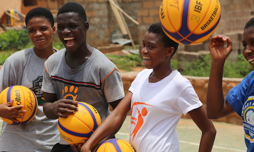 sports coaching internship Ghana